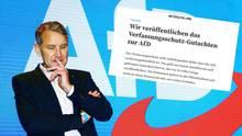 """Björn Höcke von der AfD, Screenshot von """"Netpolitik.org"""" zum veröffentlichten Verfassungsschutz-Gutachten"""