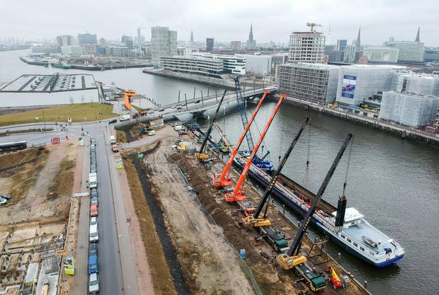 HafenCity Hamburg: Hund findet Leiche im Schilf
