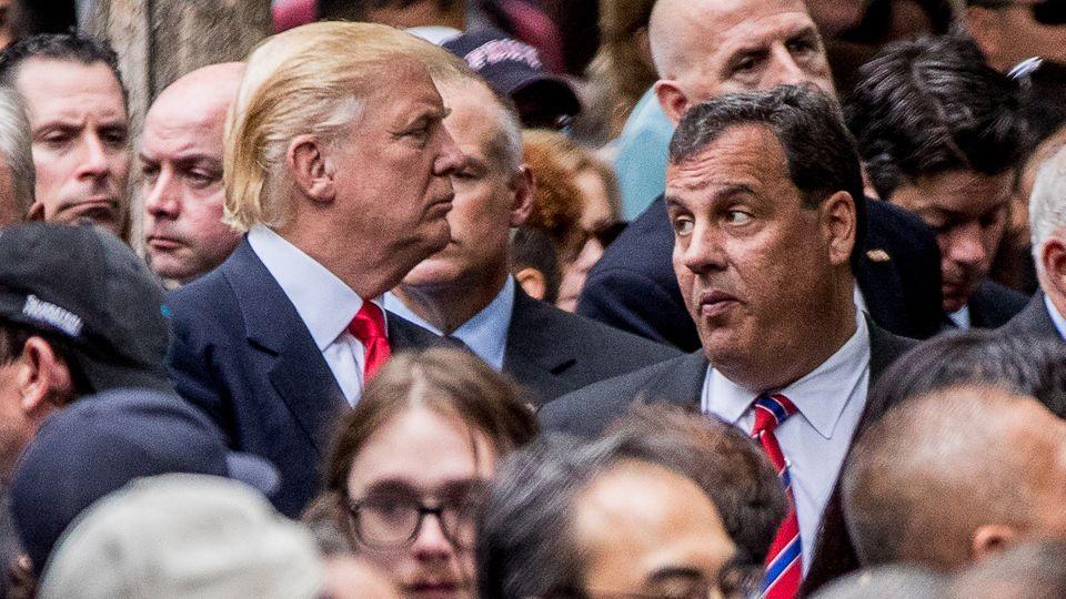 Donald Trump und Chris Christie