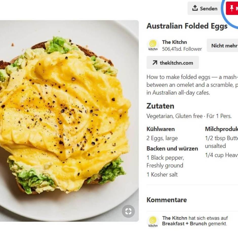 Trend aus Australien: Folded eggs, das bessere Rührei: Warum wir Eier gefaltet essen sollten