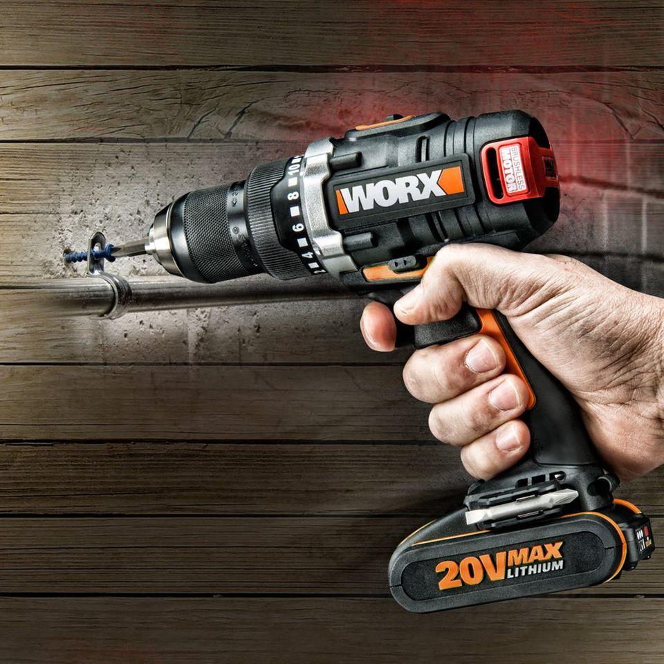 Testsieger 18-Volt  Worx WX175  Preis: 220 Euro  Note: gut (1,9)  Gute Leistung auch in Stahl