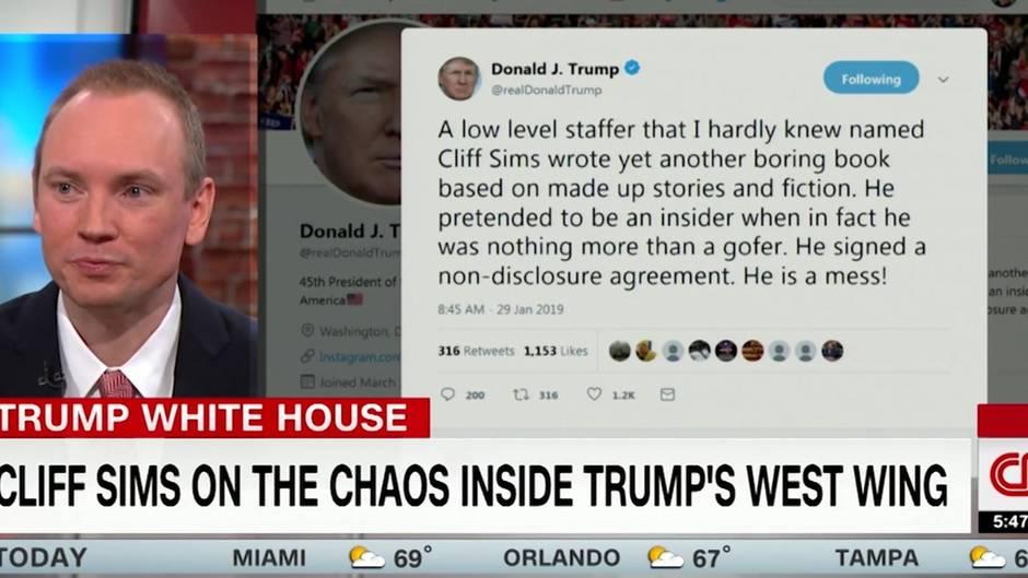 Cliff Sims bei CNN