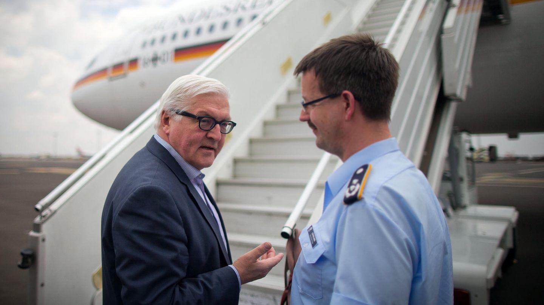 Bedingt flugbereit - Frank-Walter Steinmeier sitzt in Äthopien fest