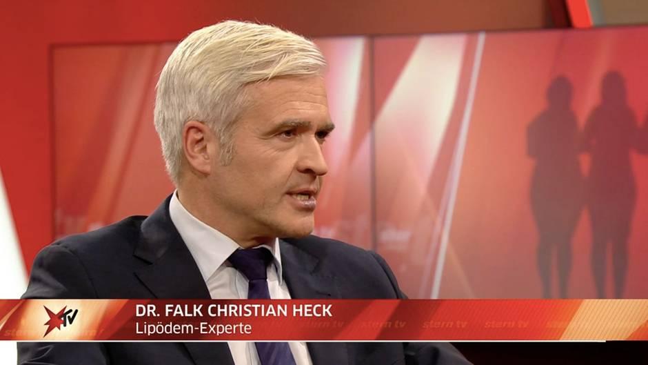 """Studiogespräch mit Betroffenen und Dr. Falk Christian Heck: Lipödem-Experte bei stern TV: """"Wenn man es richtig macht, kann eine Liposuktion die Krankheit heilen"""""""