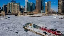 """Extrem-Wetter: Brutale Minuswerte in den USA: Das steckt hinter der """"Arktischen Kälte"""""""