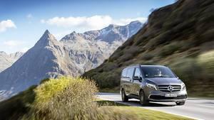 Die Fahrbarkeit der Mercedes V-Klasse wurde erhöht