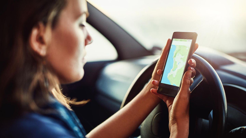 Navigation App Smartphone