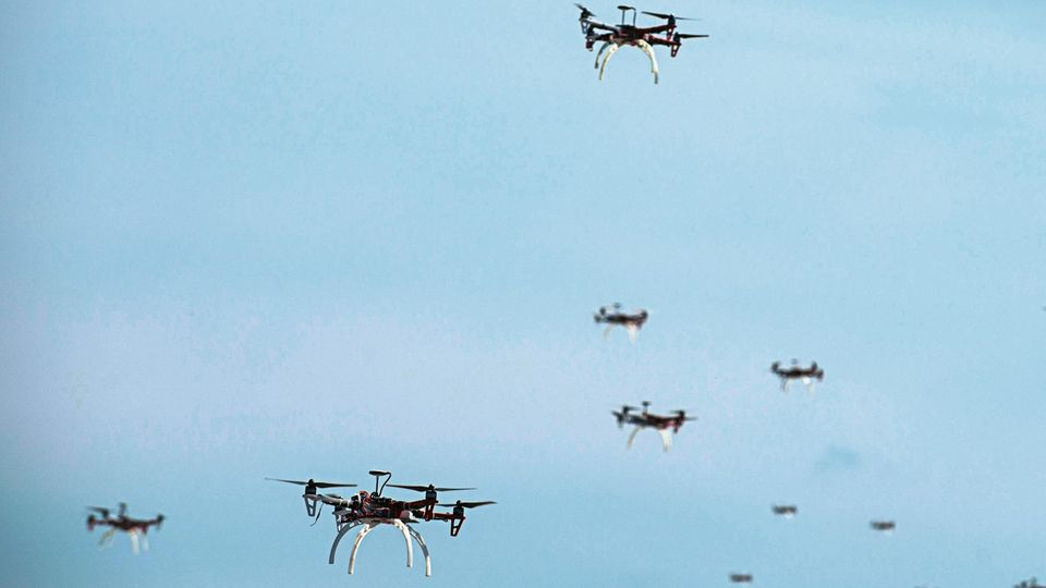 Drohnen werden immer mehr zu einem Sicherheitsrisiko