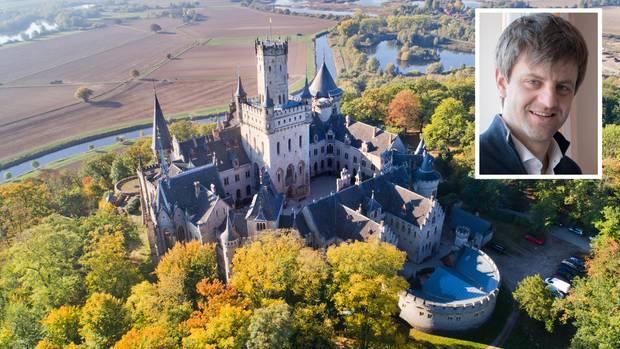 Schloss Marienberg mit Ernst-August jun.