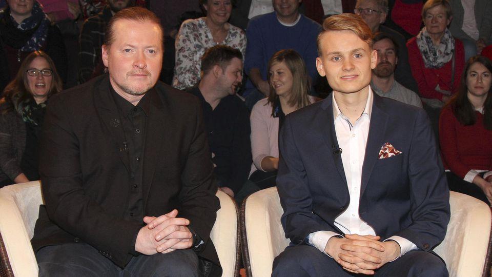 """Joey und Luke Kelly bei """"Markus Lanz"""" im ZDF"""