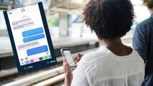 Stalking: Frau trifft Fremden im Zug – wenige Tage später bekommt sie überraschend eine SMS