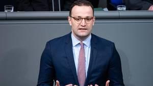 Jens Spahn im Bundestag