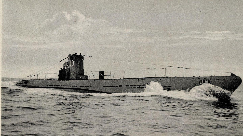 In unserem Bild ist das U-BootU 10zu sehen (Archivbild), es ist der gleiche Typ wie die U 23, die jetzt vor der türkischen Küste gefunden wurde. Die Aufnahme stammt aus dem Jahr 1940.