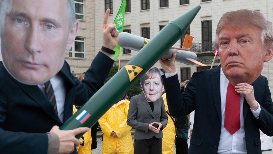 USA kündigen INF-Abrüstungsvertrag mit Russland auf - die Pressestimmen