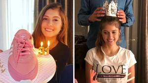Cathy Hummels feiert ihren 31. Geburtstag und hatkein Problem mit ihrem Alter
