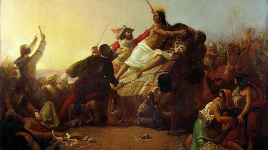 Francesco Pizarro zerstörte das Reich der Inka.