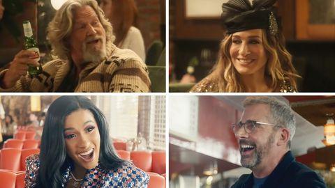 US-Schauspieler: Der Dude ohne Haare: Jeff Bridges zeigt sich nach Krebsdiagnose