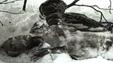 Viel Toten waren halbnackt im Schnee erfroren.