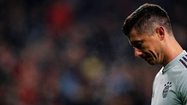 FC Bayern - Lewandowski ausgebrannt nach 1:3 in Leverkusen