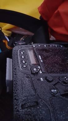 Veranschaulichung, wie kalt es für die Kamera ist…