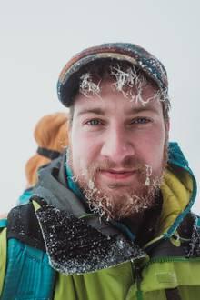 Selfie aus dem Schnee