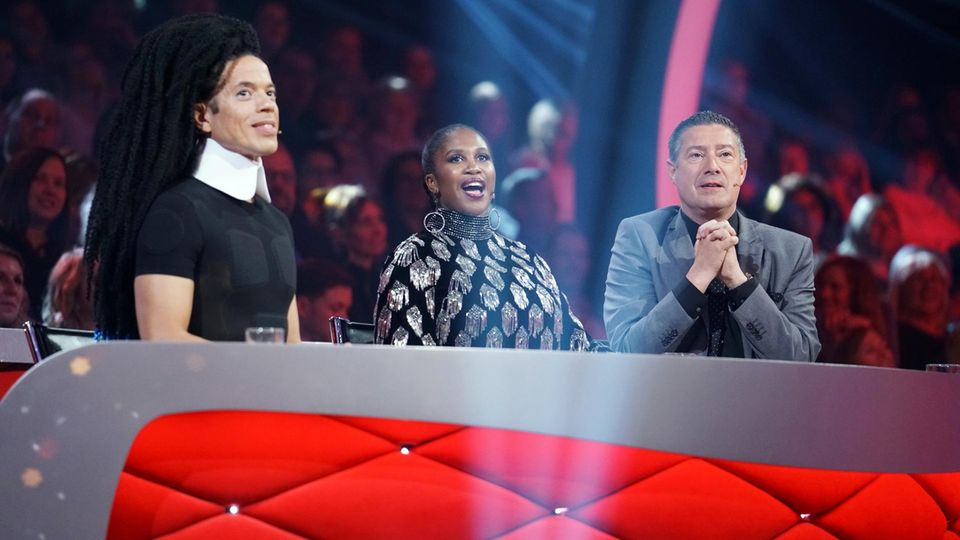 "Jorge Gonzalez, Motsi Mabuse und Joachim Llambi in der ""Let's dance""-Jury"