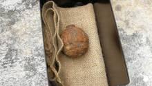 Die Handgranate fand den Weg nach Hongkong über die Kartoffelernte