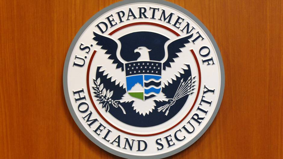 Das Wappen der Homeland Security