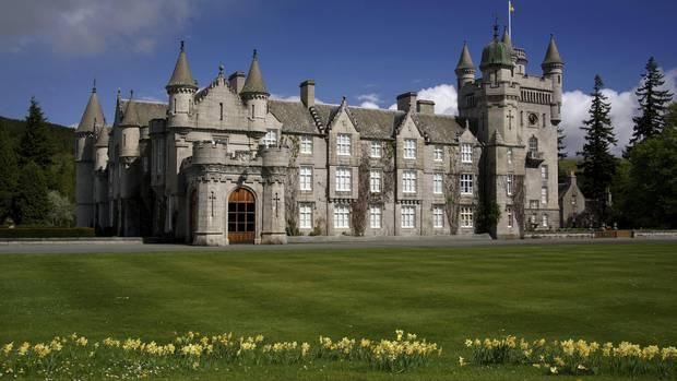 Balmoral Castle liegt im schottischen Hochland