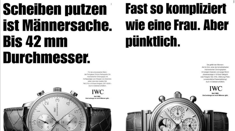 Werbung Sexismus