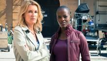 "Maria Furtwängler und Florence Kasumba im ""Tatort"""