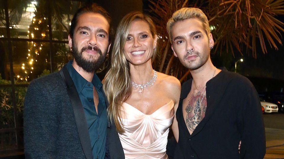 Tom Kaulitz Heidi Klum Bill Kaulitz