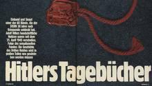 Der Artikel über den Fund der Hitler-Tagebücher beginnt mit einer ausführlichen Fotostrecke
