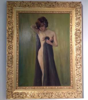 Die Geschichte hinter Kujaus Akt von Geli Raubal, erzählt Kujau-Kenner Marc-Oliver Boger: Kujau kaufte ein altes Bild, wusch die Farbe runter und malte auf dieser alten Leinwand einen Akt, der Hitlers Nichte Geli Raubal zeigt. Sie ist Tochter von Hitlers Halbschwester Angela Raubal. Kujau sagte, er verhandelte mit Heidemann einen Kaufpreis dieses Gemäldes, verkaufte es aber dann doch für 25.000 Mark an einen Sammler aus Süddeutschland.Das Gemälde hängt im Kujau-Kabinett in Bietigheim-Bissingen.