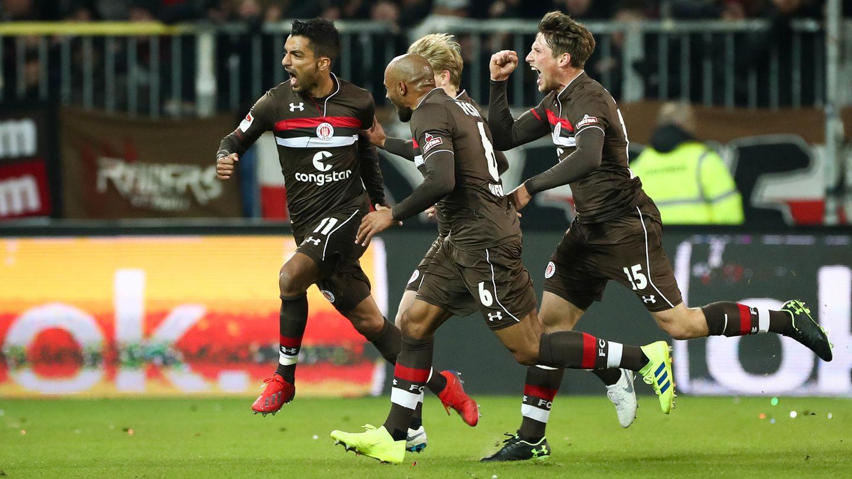 Fußball: Zweite Bundesliga, FC St. Pauli vs. Union Berlin