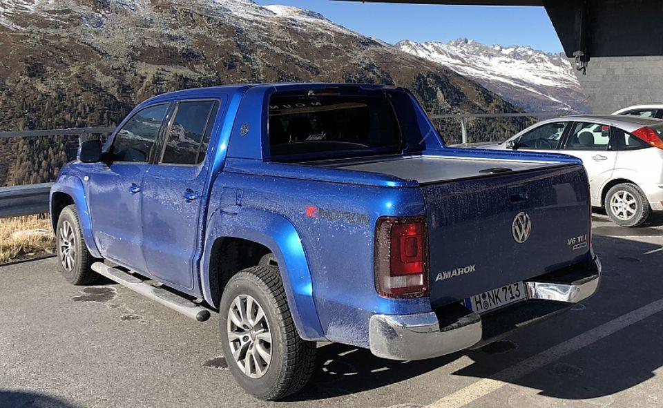 VW Amarok 3.0 TDI V6 4motion - unterwegs in den Tiroler Alpen