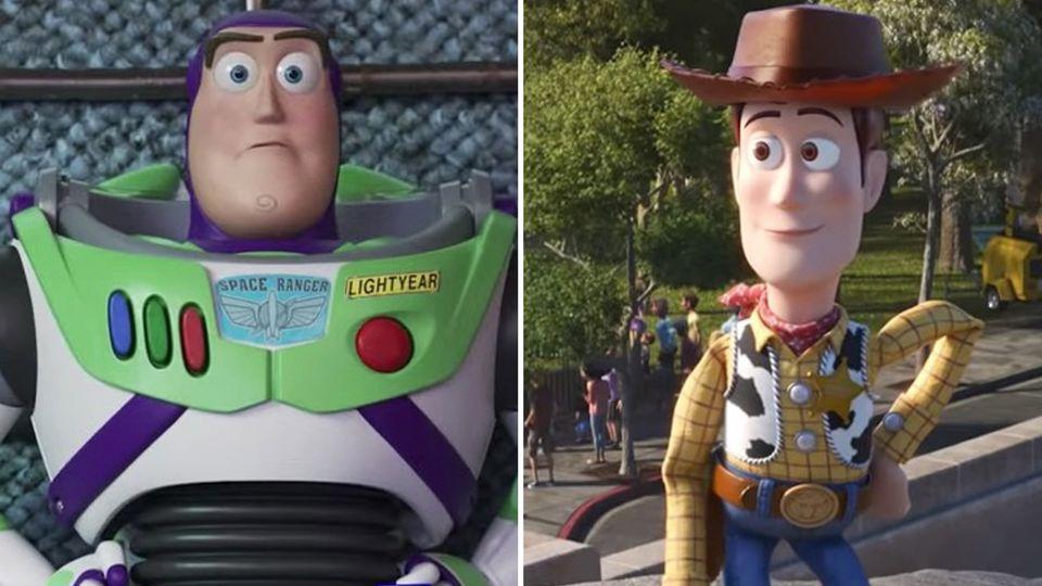 """Cowboy Woody und Astronaut Buzz Lightyear erleben neue Abenteuer im neuen """"Toy Story"""""""