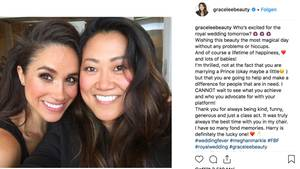 Grace Lee und Meghan Markle