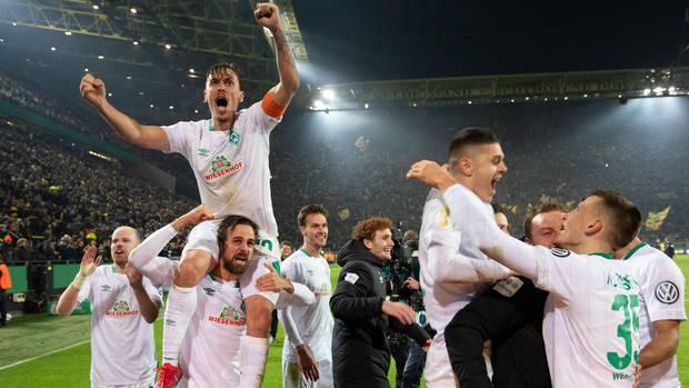 DFB-Pokal-Achtelfinale: Werder Bremen schmeißt BVB raus