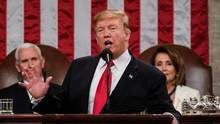Donald Trump während seiner State of the Union 2019