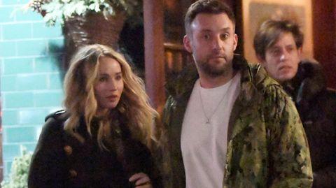 Jennifer Lawrence und Cooke Maroney nach einem gemeinsamen Abendessen in New York