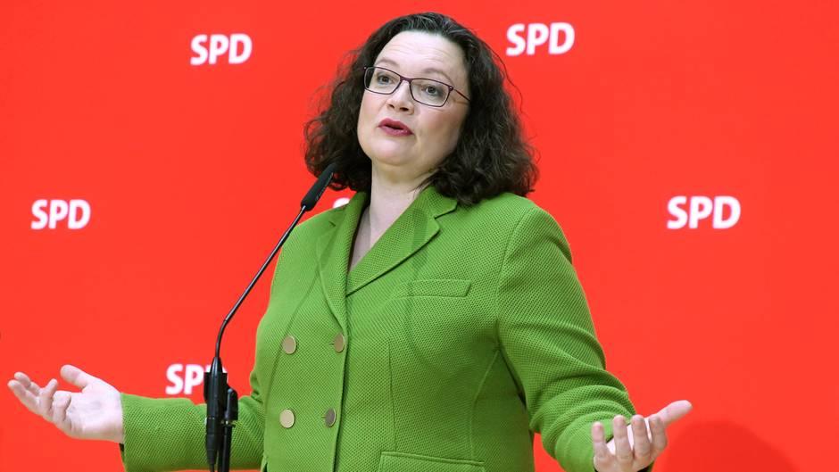 """""""Wir werden Hartz IV hinter uns lassen"""": So will SPD-Chefin Nahles das System aufbrechen"""
