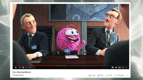 """Ein Wollknäuel für Diversität: Pixars neuer Kurzfilm """"Purl"""" ist feministisch – aber kann noch viel mehr"""