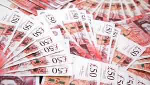 Student erhält aus Versehen neun Millionen Pfund