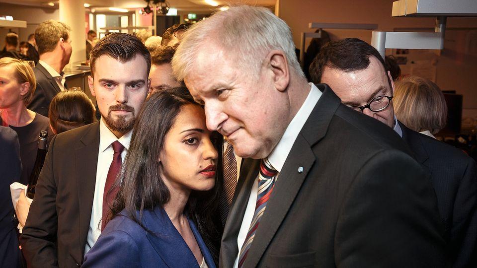 In großer Nähe so fern: Chebli 2018 mit Bundesinnenminister Horst Seehofer, nachdem der gesagt hatte, der Islam gehöre nicht zu Deutschland