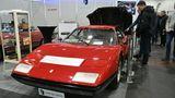 Der Ferrari 365GT4/Berlinetta Boxer ist eines von nur 387 Exemplaren. Er steht für 385.000 Euro zum Verkauf. Das Fahrzeug, Baujahr 1974, hat laut Eigentümer Frank Paul Janssen den ersten 12 Zylinder Mittelmotor von Ferrari.