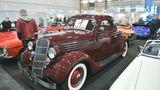 Das Ford V8 Coupé Modell 48, Baujahr 1935, wird für 42.900 Euro angeboten. Importiert wurde es von den USA nach Dänemark. Einerder vielen historischen Wagen in Bremen mit einer langen Historie.