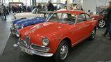 Alfa Romeo Giulietta Sprint von 1962. Laut Verkaufsofferte: Neu gekauft in Schweden, der letzte Besitzer hatte den Wagen von 1982 bis 2017. Der Wagen wird angeboten für 36.900 Euro.