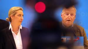 Bericht - AfD verklagt Verfassungsschutz