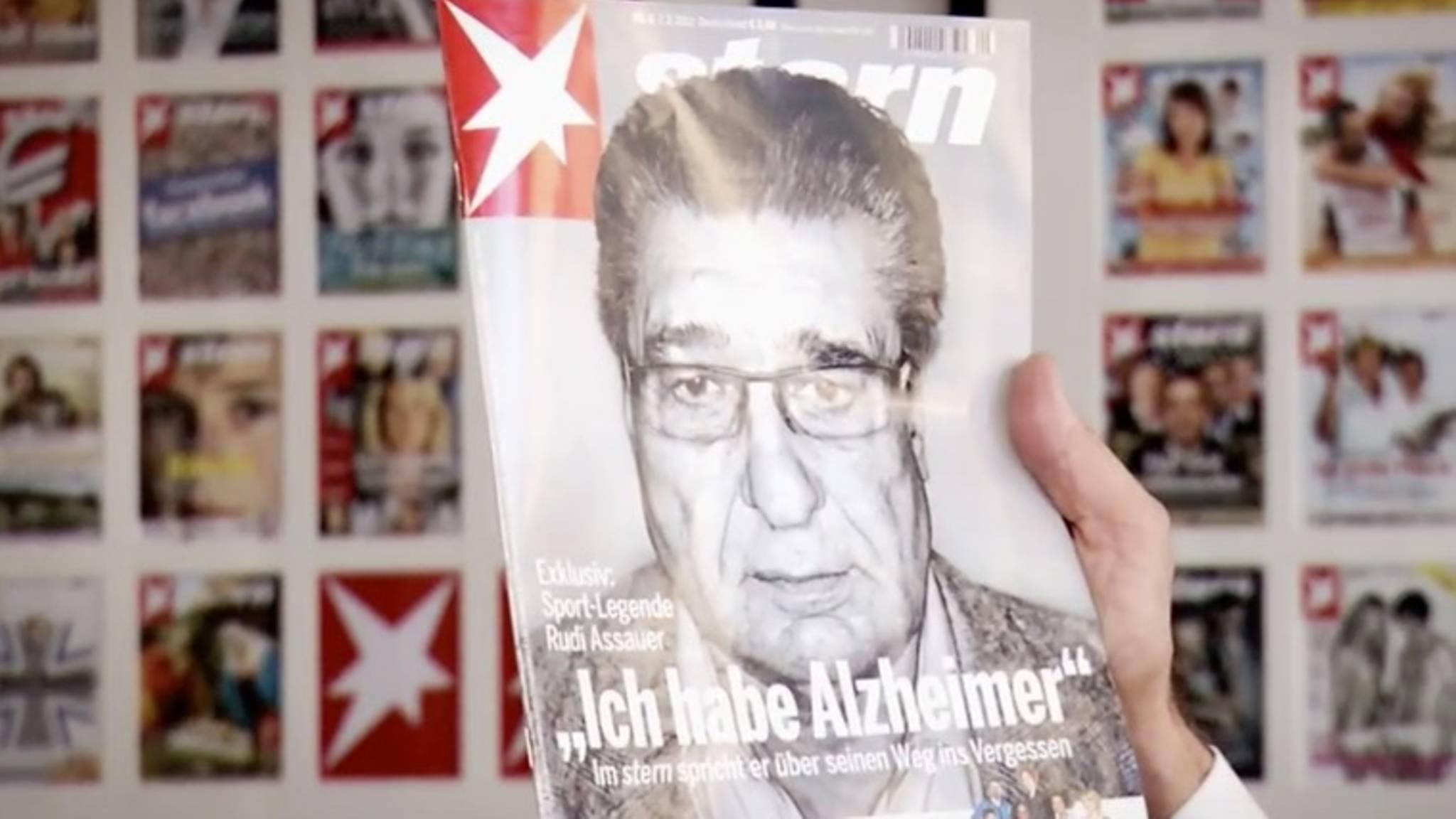 Als Rudi Assauer Seine Alzheimer Erkrankung Im Stern